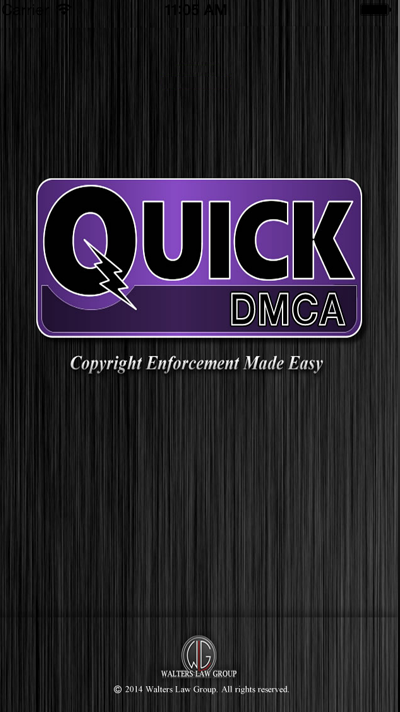 QuickDMCA Screenshot #1